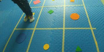 Dva koraka napred, jedan nazad, skoči i nauči kretanje u prostoru