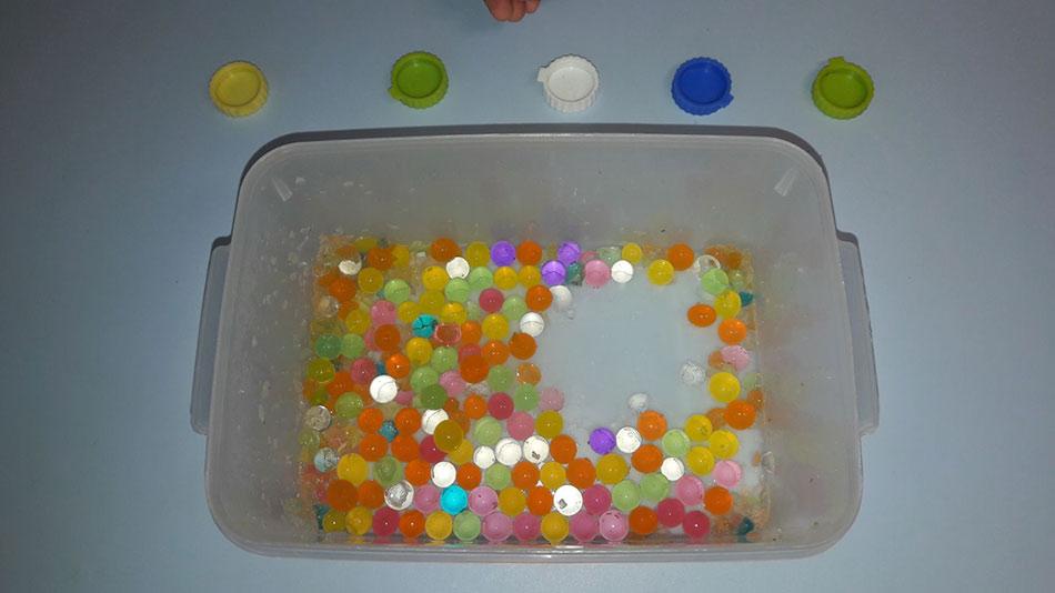 Vodene loptice za osetljive prste
